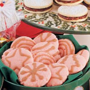 Pink Peppermint Cookies Recipe