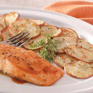 Roasted Dill Potatoes Recipe