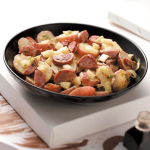 Sausage Potato Salad Recipe