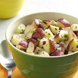 Lemon Vinaigrette Potato Salad Recipe