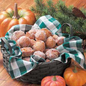Pumpkin Doughnut Drops Recipe