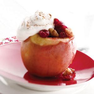 Cranberry Stuffed Apples Recipe
