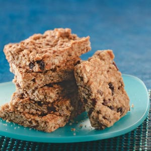 Makeover Oatmeal Bars Recipe