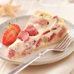 Rhubarb Berry Tart Recipe