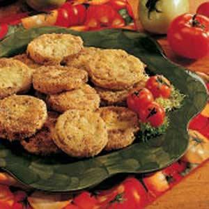 Green Tomatoes Parmesan Recipe