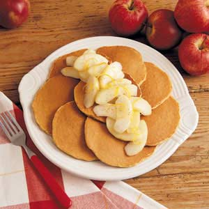 Apple-Topped Oatcakes Recipe