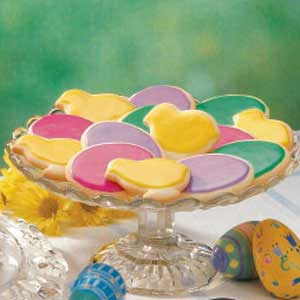 Easter Sugar Cookies Recipe