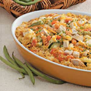 Rotini Chicken Casserole Recipe