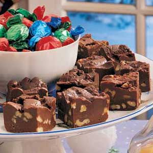 Double Chocolate Fudge Recipe