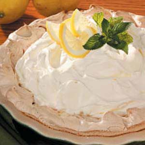 Lemon Pie in Meringue Shell Recipe
