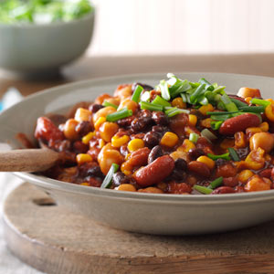 Sweet & Spicy Beans Recipe