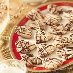 Hazelnut Shortbread Hearts Recipe