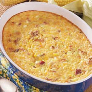 Hearty Corn Pudding Recipe