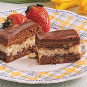 Macaroon Brownies Recipe