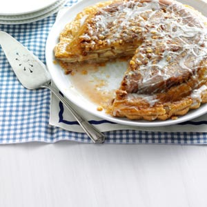 Upside-Down Apple Pie Recipe