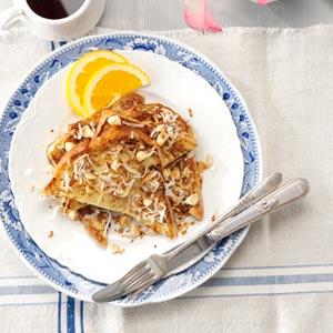 Orange-Coconut French Toast Recipe