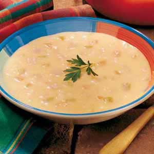 Canadian Cheese Soup Recipe
