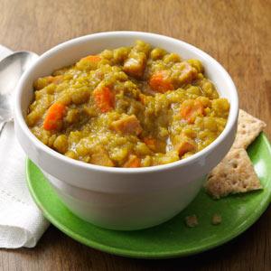 Curried Ham & Split Pea Soup Recipe