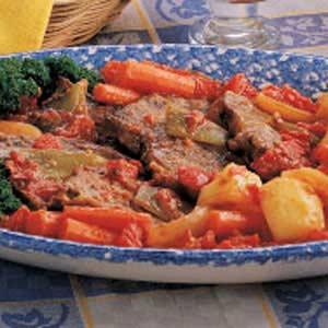 Swiss Steak Supper Recipe