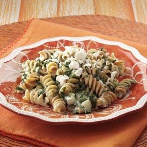 Spanako-Pasta Recipe