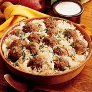 Beef and Sauerkraut Dinner Recipe