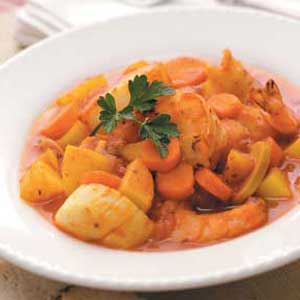 Spicy Seafood Stew Recipe