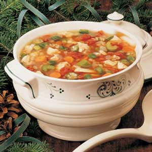 Tomato Turkey Soup Recipe