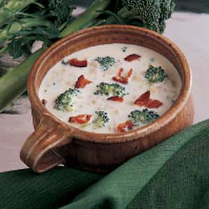 Barley Broccoli Soup Recipe