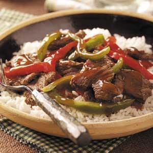 Sweet Pepper Venison Stir-Fry Recipe