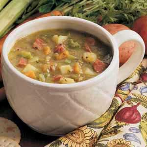 Hearty Split Pea Soup Recipe