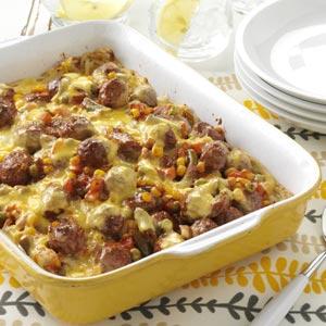 Midwest Meatball Casserole Recipe
