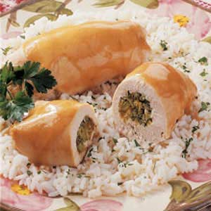 Broccoli-Stuffed Chicken Recipe