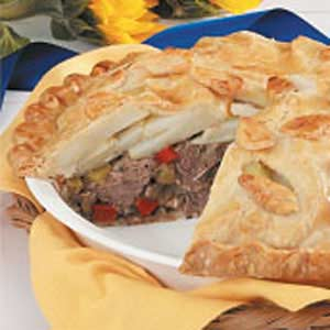 Beef N Potato Pie Recipe