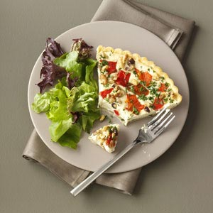 Blue Cheese Walnut Tart Recipe