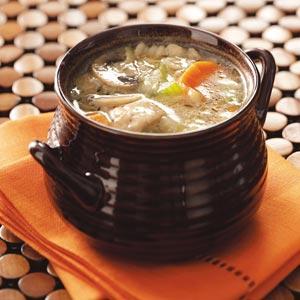 Vegetable Chicken Barley Soup Recipe