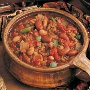 Buffalo Chili con Carne Recipe