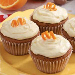 Orange Applesauce Cupcakes Recipe