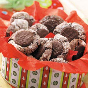 Mint-Topped Chocolate Cookies Recipe