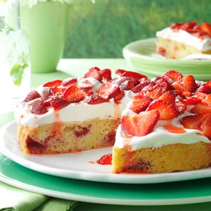 Citrus Berry Shortcake Recipe