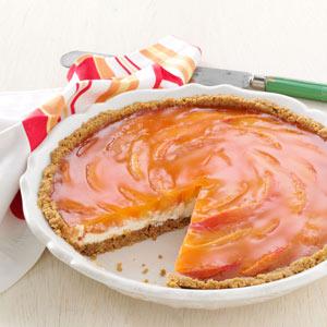 Sunny Peaches & Cream Pie Recipe