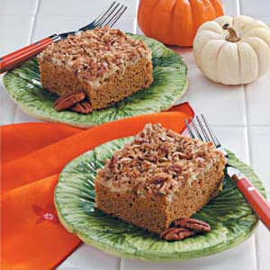 Pumpkin Cheese Coffee Cake Recipe