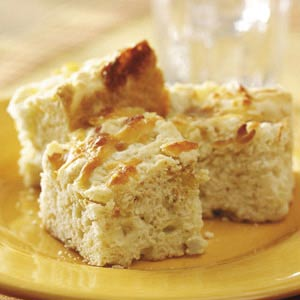 Smoky Onion Biscuit Squares Recipe