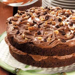Chocolate Carrot Cake Recipe