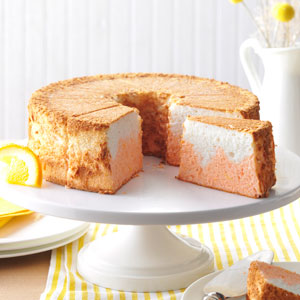 Orange Dream Angel Food Cake Recipe
