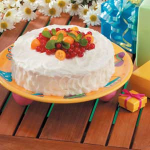 Makeover White Layer Cake Recipe