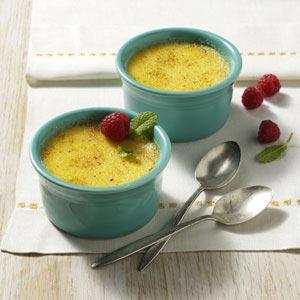 Sweet Corn Creme Brulee Recipe