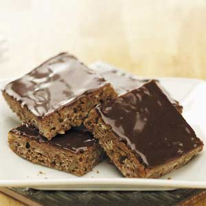Makeover Oatmeal Brownie Bars Recipe