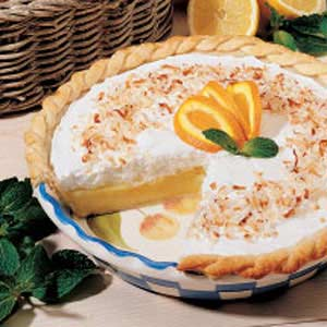 Frosted Orange Pie Recipe
