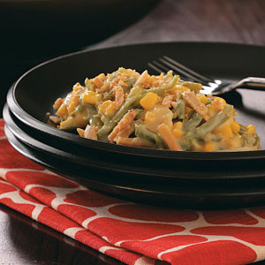 Makeover Fancy Bean Casserole Recipe