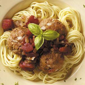 Porcini Turkey Meatballs Recipe